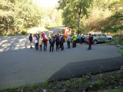 Møteplassen var i krysset med veien opp til Kårigstad