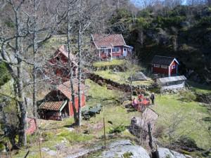 Turen gikk i fint vårvær, søndag 11. april 2010